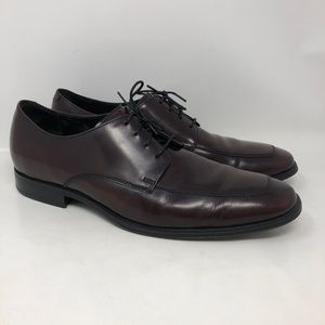 Cole Haan Burgundy Leather Oxford Dress Shoes 11M